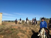 Riding from the hipica