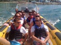 标志实践团队建设日在Marbella