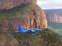 landscapes flying