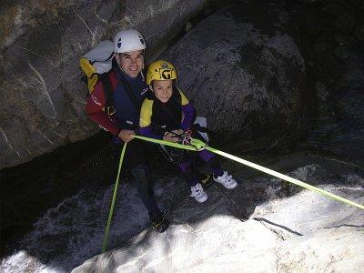 Descenso del barranco del Cajigar en Viacamp 4 h