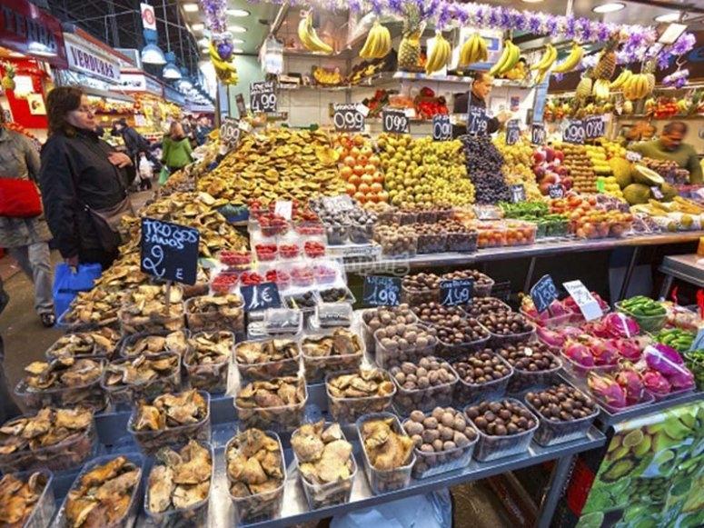 参观Boqueria市场