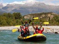 Rafting Nivel Iniciación en río Cinca en Laspuña