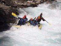 Rafting en río Ara en el Pirineo Nivel Avanzado 4h