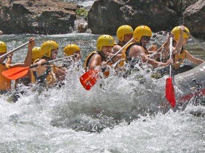 Rafting río Guadalquivir Nivel Iniciación Cazorla