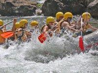 Rafting sul fiume Guadalquivir Livello di iniziazione Cazorla