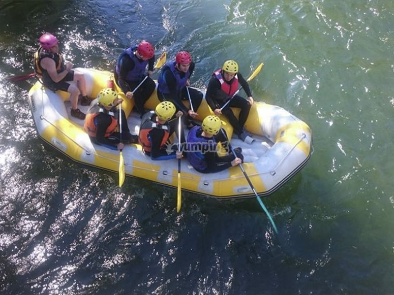 Rafting day