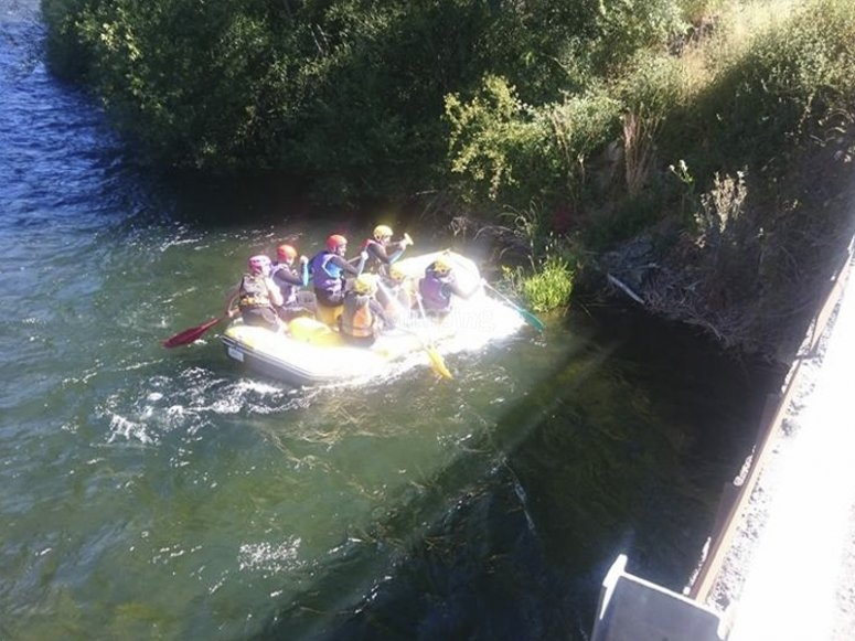 Having fun with a rafting route