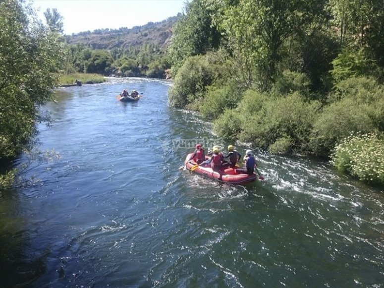 Rafting adventure day