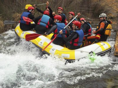 Initiation Rafting on the Sil river Ponferrada 2h