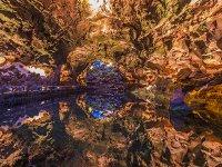 Valporquero洞穴的景色