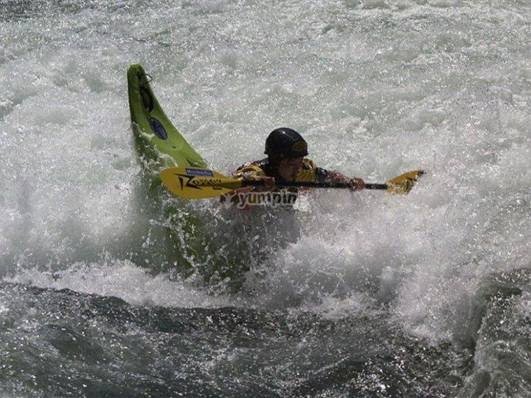 享受皮划艇课程
