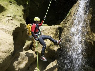 Barranco de Berrós en el Pallars Sobirà 90 minutos