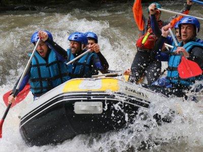 Rafting río Nogueresa Ribagorçana en Port de Suert