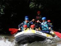 Rafting a río Noguera en Port de Suert para niños