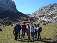 到Sierra de Grazalema的最高点