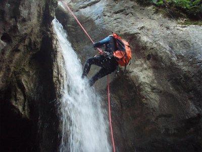 Barranco del Estarón Inferior en Pallars Sobirá 3h