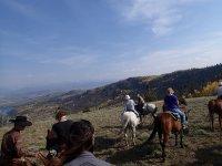 A caballo en la montana