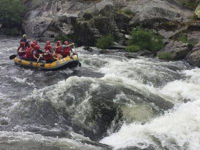 Rafting sul fiume Deza a Pontevedra 8 km