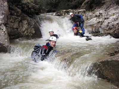 在索托德卡梅罗斯的勒扎峡谷峡谷探险