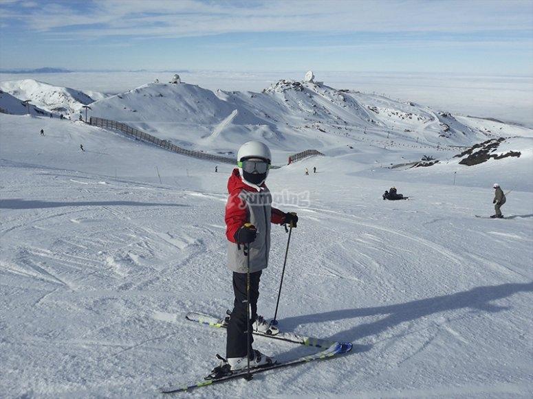 Clases particulares de esquí en Sierra Nevada