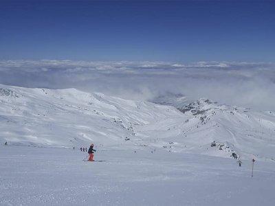 内华达山脉的私人滑雪课5小时