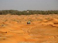 Desérticos paisajes por Túnez y Mauritania