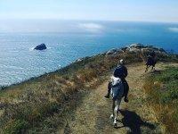 Paseo a caballo por la costa