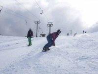 私人滑雪板课程