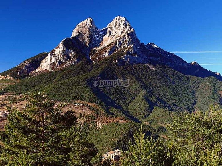 Vistas de la cima de Pedraforca