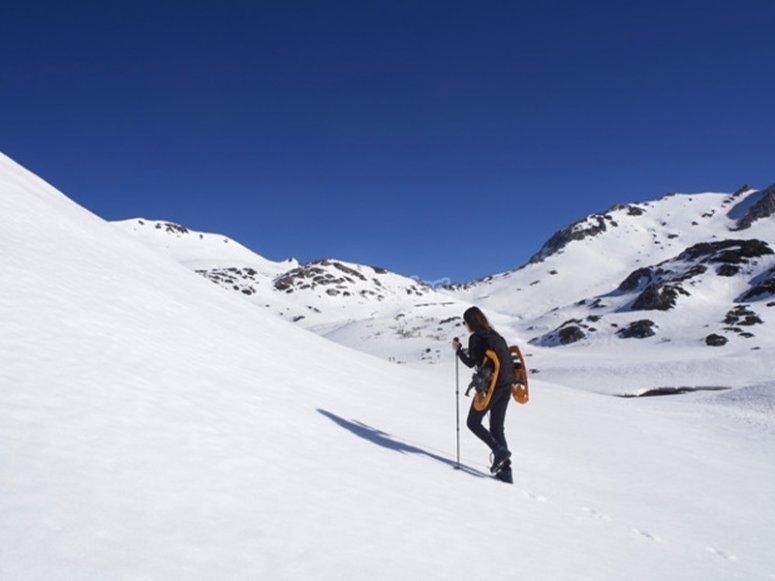 沉入埃斯波特的风景-在雪靴中埃斯波特