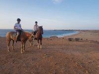 A caballo en pareja en Fuerteventura