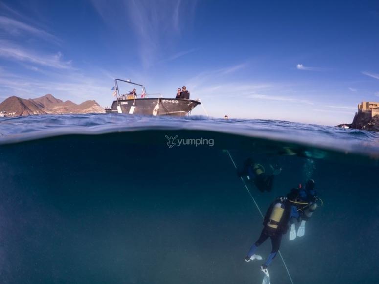 Godersi una doppia immersione