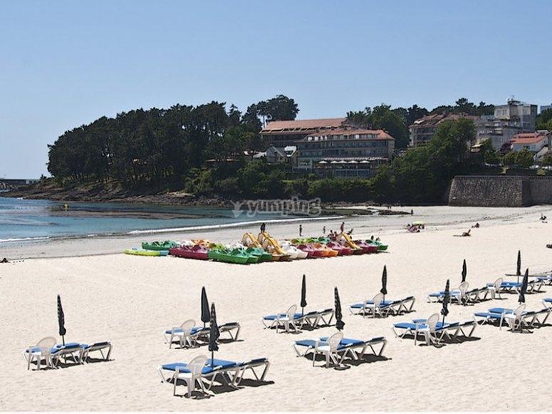 Silgar Beach风景