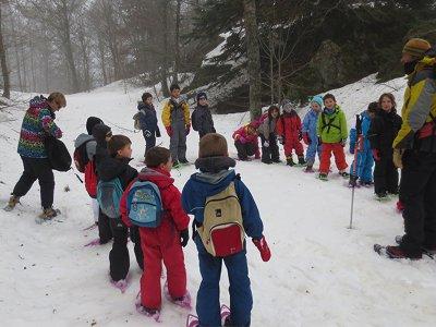 Ruta raquetas de nieve familiar Sierra Nevada 2 h