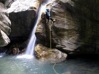 Descent of the Buitreras Canyon in Colmenar 7h