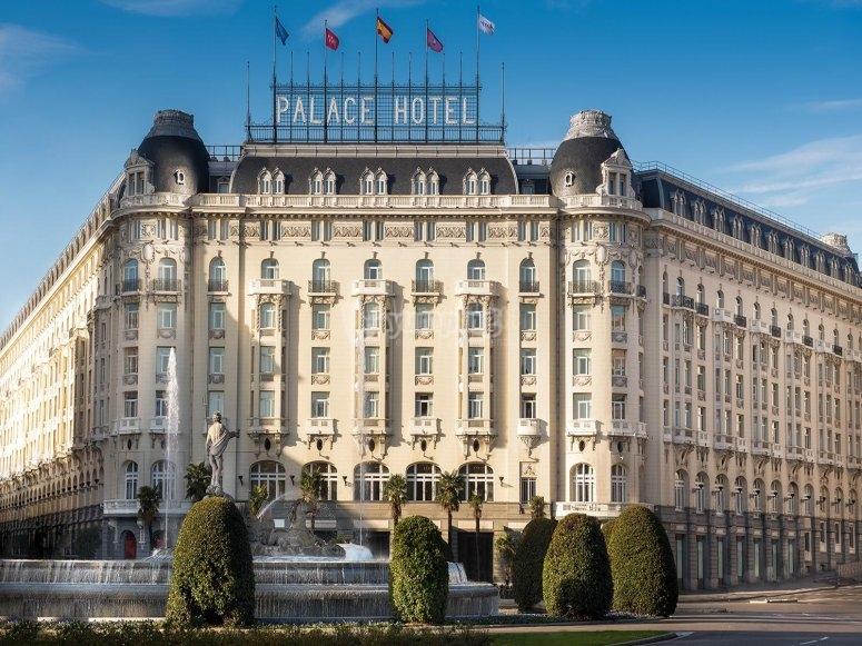 Visita guiada por el hotel Palace