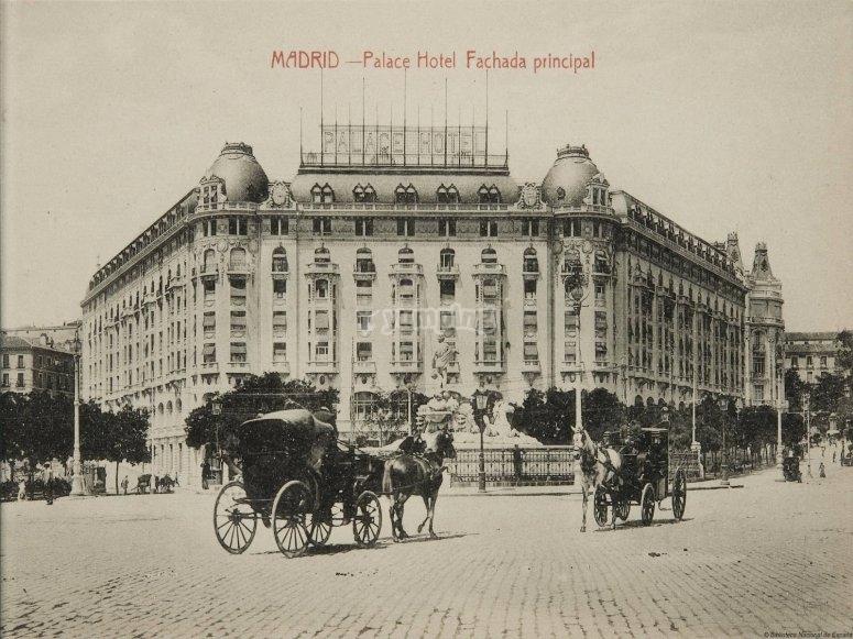 El hotel Palace lugar de encuentro de espías