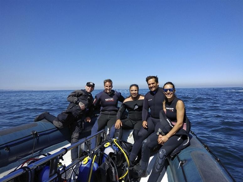 Studenti del corso di immersione Open Water Diver Advanced