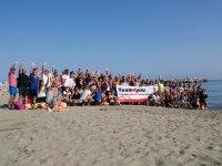 Beach games in Malaga
