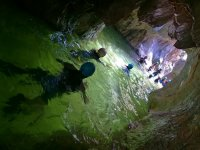 Cave inside the ravine