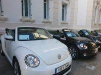 Rally in cabrio cars