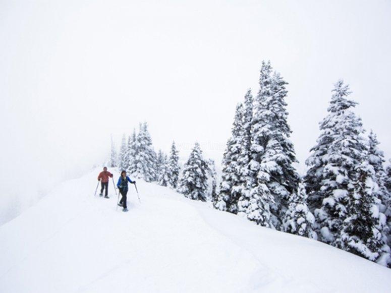 Raquetas de nieve al Collado de Aiguillette