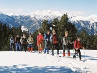 Ruta raquetas de nieve en Ordino Arcalís 4 h