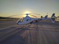 直升机在萨瓦德尔上空飞行20分钟