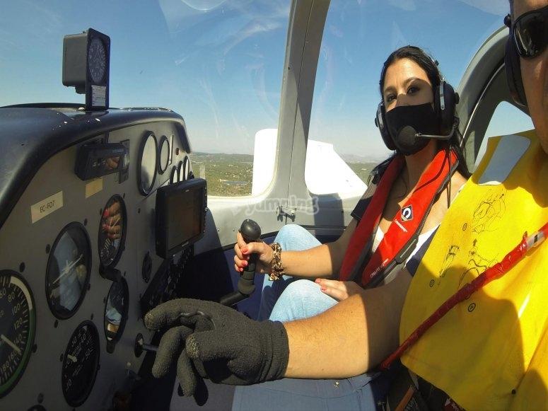 Ready for a microlight flight