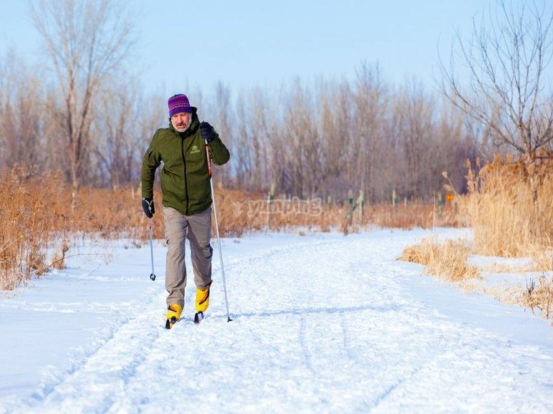 Cross-country skiing in Grandvalira