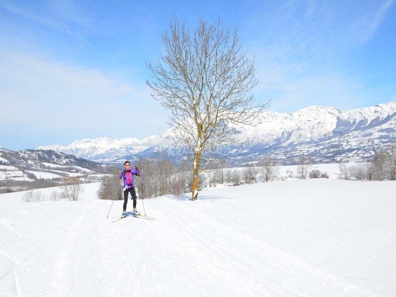 Grandvalira cross-country skiing