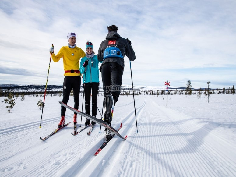 Cross-country skiing in Andorra
