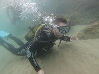 Diving baptisms
