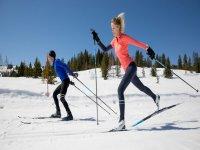 Clase de esquí de fondo en La Rabassa Andorra 1 h